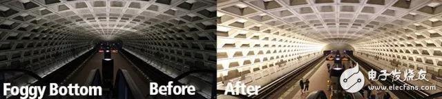 华盛顿48个地铁站将全部升级为LED系统