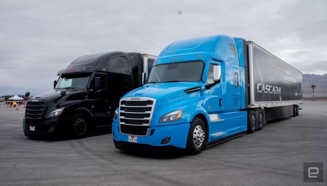 亞博競彩app戴姆勒自動駕駛卡車如何變陣