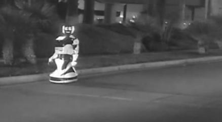 """特斯拉自动驾驶""""撞死""""机器人 机器人受损严重且无法修护"""