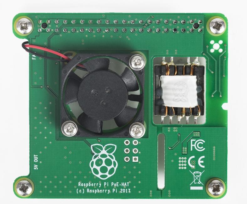 e络盟宣布为Raspberry Pi 3 B+型板提供官方以太网供电(PoE)附加板