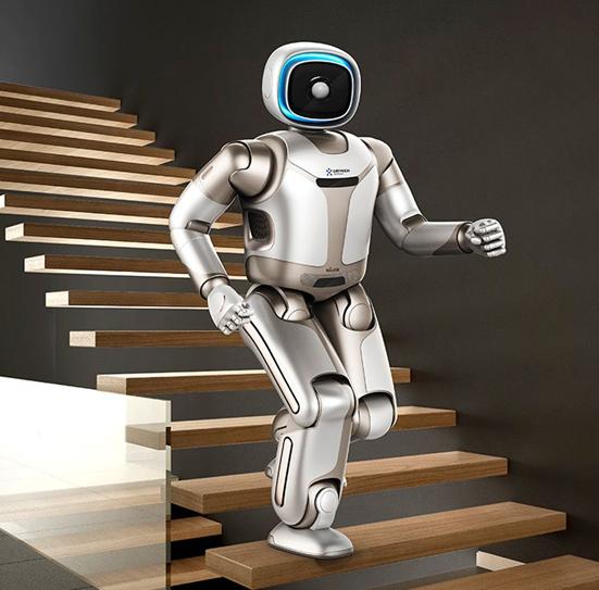 2019年直立行走的机器人端茶送水来了