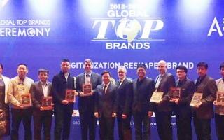 2018-2019年度全球领先品牌活动榜单在拉斯维加斯发布