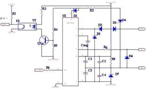 esd是electro static discharge英文的缩写,中文含义即静电放电:处于