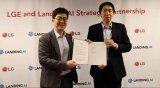 吴恩达与LG在拉斯维加斯签署了战略合作伙伴关系的协议