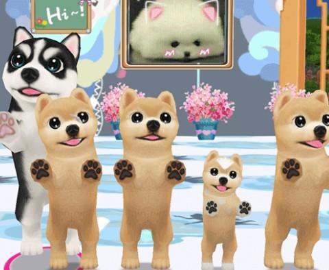 区块链3D宠物养成社交游戏旺旺狗介绍