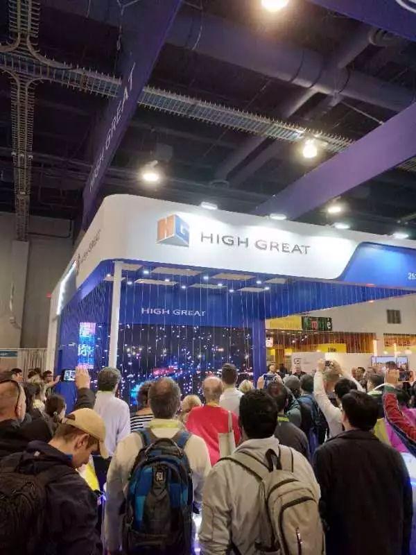亚博国际消费类电子产品展览会在美国拉斯维加斯正如火如荼的举行