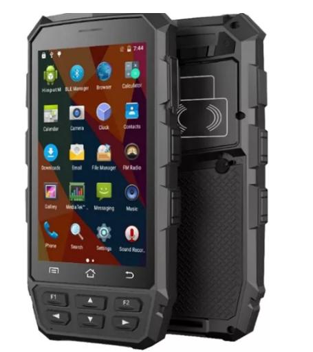 iDTronic的安卓RFID移动读取器C4 Red支持移动设备管理