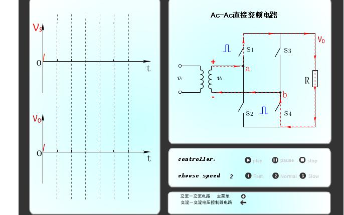 Ac-Ac直接变频电路的电路运行仿真资料免费下载