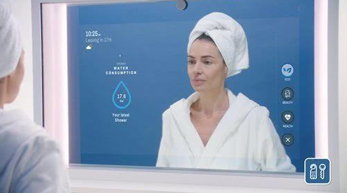 CareOS发布一款智能AR镜子Artemis 可为用户提供多种不同搭配体验