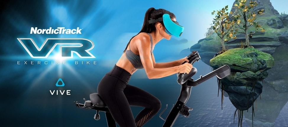 NordicTrack新推的VR自行车