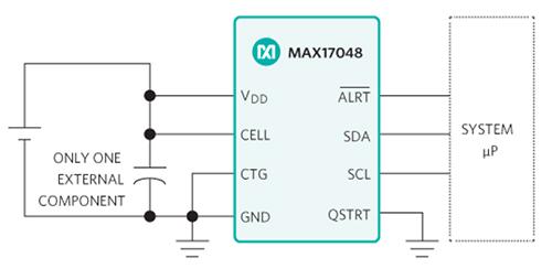 通过电量计IC延长电池电力运行时间