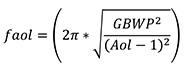 运算放大器的可用输出摆幅范围计算及跨阻放大器的设计