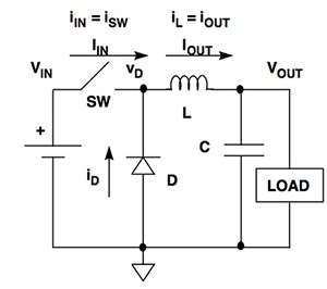 开关稳压器的连续和不连续工作模式的切换与之间的区...