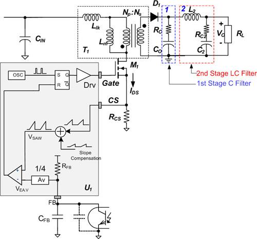 第二级LC滤波器中的PWM开关建模介绍