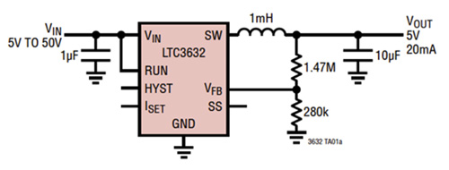 降压转换器实现高效的能量收集的解决方案