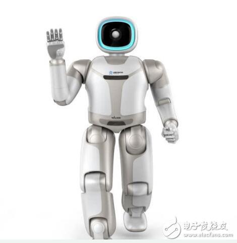 优必选仿人服务机器人Walker新一代亮相CES 2019