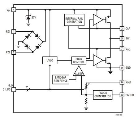 能量收集源中的电源管理解决方案