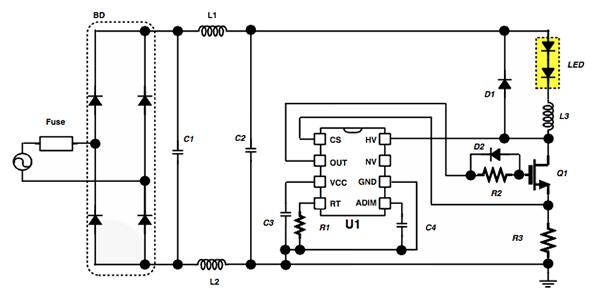 LED智能照明的电源控制系统设计