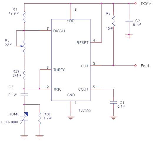 湿度传感器的信号调节功能分析