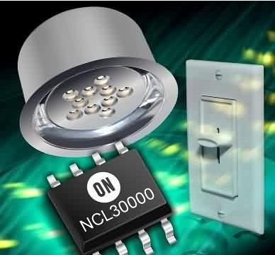 安森美发光二极管LED驱动器NCL30000的应...