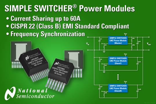 POL模块提供具有可扩展性的DC/DC转换器解决方案