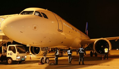 青岛航空正式引进4架空客A320NEO机型飞机