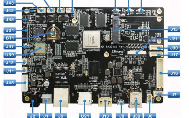QY-RK3288嵌入式主板硬件说明书中文版资料免费下载