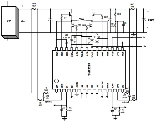 栅极驱动器在太阳能收集设计中的应用
