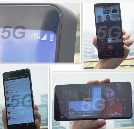 广东联通成功通过无线方式实现了5G手机终端与网络...