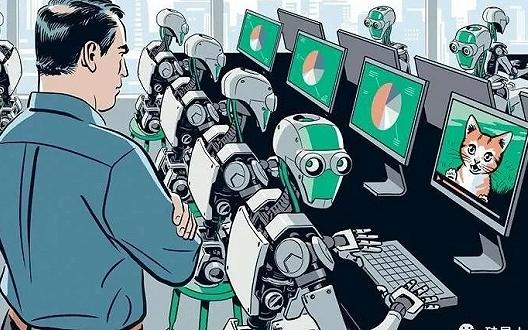 """李飞飞的新研究,将让""""给AI打工的人""""再一次失业"""