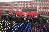 中联重科打造的全球最大的塔机智能工厂在常德开园