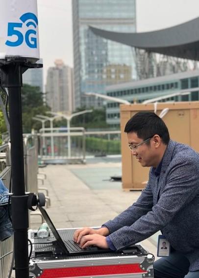 5G网络4K电视传输测试在深圳正式启动