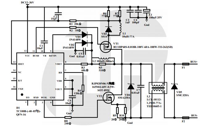 TC001B和TC001C芯片的应用说明