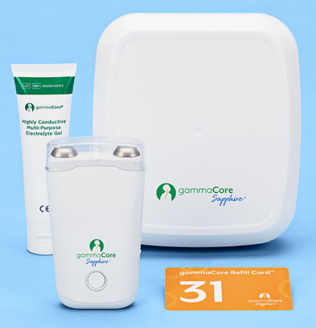 gammaCore Sapphire采用RFID技术来设置设备操作 可进行无创头痛治疗