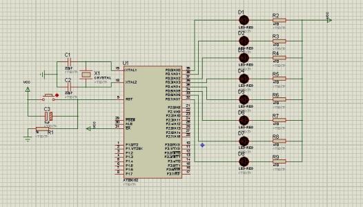 PIC单片机TIMER0实现流水灯的自动控制设计
