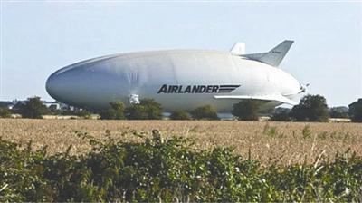 英国全球最大飞机天空登陆者10号将投入生产