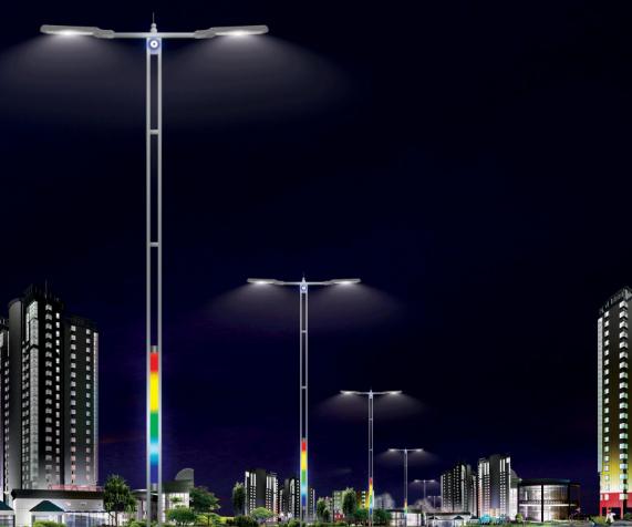 重庆铜梁区将计划再改造城区道路LED路灯413盏