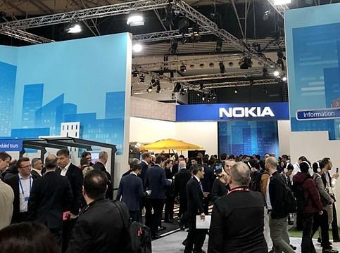 诺基亚在芬兰89%销售额的主要网络业务的营业利润率