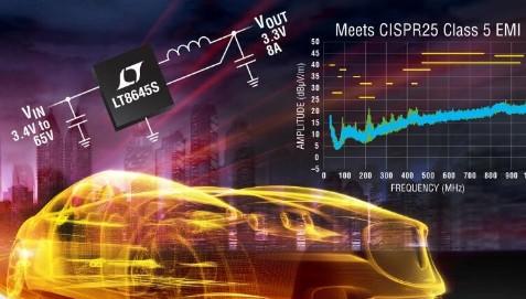 凌力尔特LT8645S系列同步降压型开关稳压器性能特点解析