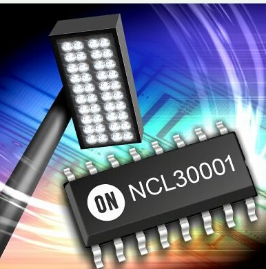 安森美新离线式LED驱动器NCL30001性能特点介绍