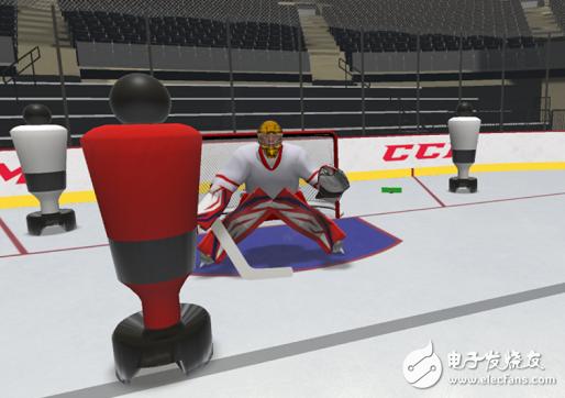 Sense Arena的虚拟冰球训练套件通过VR曲棍球训练增强肌肉记忆力