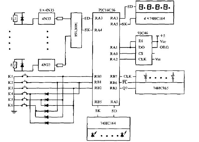 如何使用PIC单片机为核心设计多路定时控制器