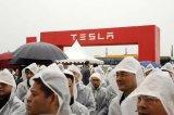 特斯拉来到中国开展业务,中国公司跑到特斯拉后?#21644;?#20154;