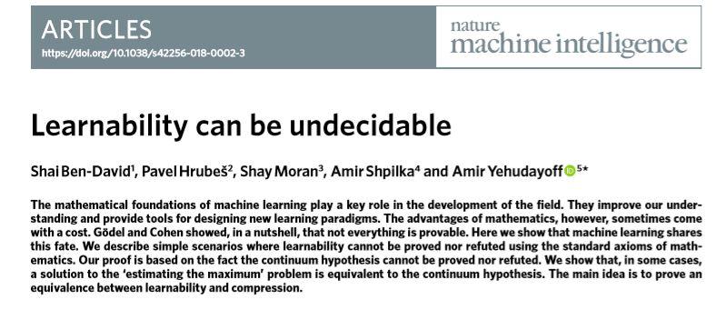 """亚博一朵乌云出人意料地降临到了机器学习界,或将""""颠覆""""机器学习理论"""