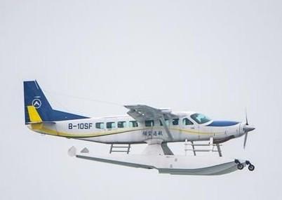 宗申水上飞机在备货附近试飞成功并将于今年3月正式运营