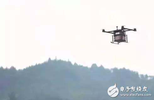 无人机在农村的使用率已提高