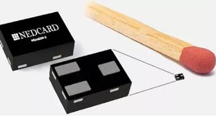 NedCard推出的MicroSON-3 SMD采用了UCODE 8m RFID芯片