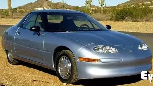 通用EV1的出现当时给美国汽车市场带来的冲击丝毫不比今天的特斯拉差