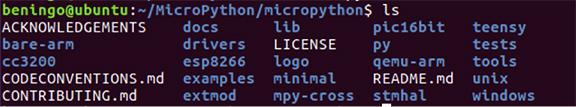 通过MicroPython平台开发出微控制器的嵌入式程序