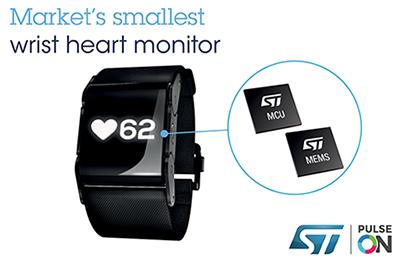 采用小型化设计的可穿戴健康监测器